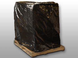 Black Pallet Covers at a New Lower Price!