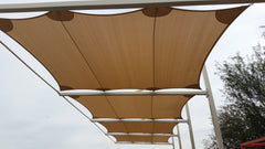 cantelevered shade sail