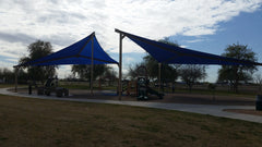 shade sails at Greenway Granda Park