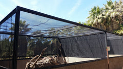 shade for iguana enclosure