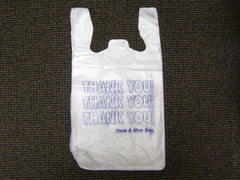 T Shirt style grocery bag