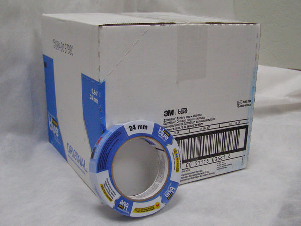 "case of 3M Blue 2090 1"" Masking tape"