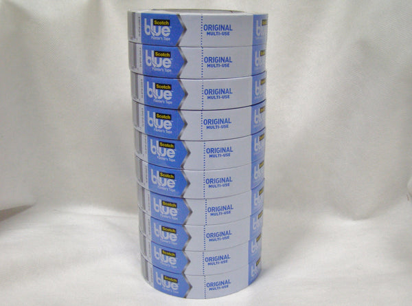"sleeve of 3M Blue 2090 1"" Masking Tape"