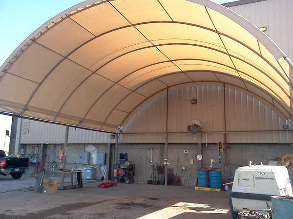 custom shade cover arch