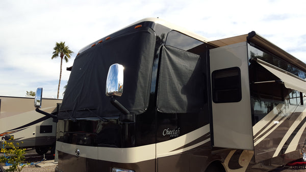 motorhome windshield shade
