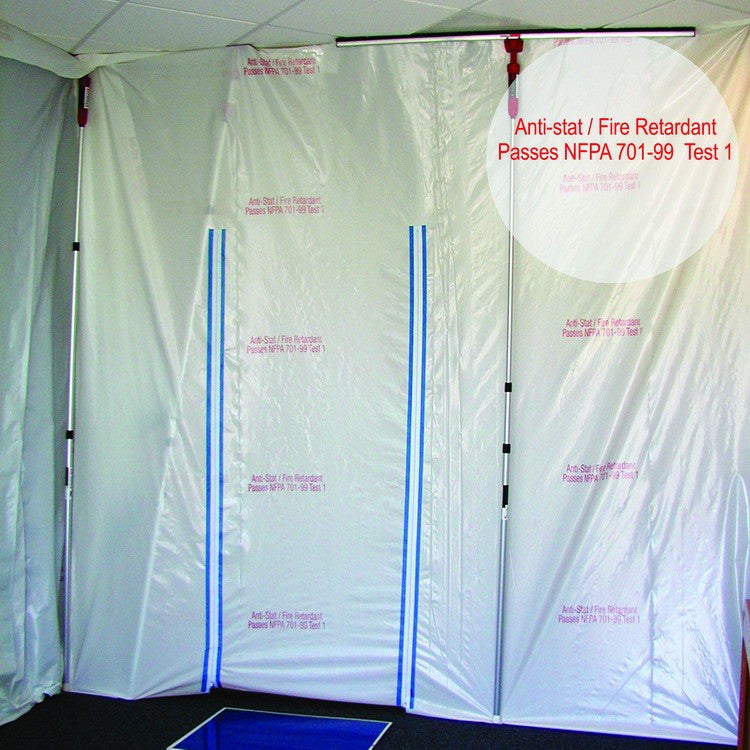 flame retardant poly film