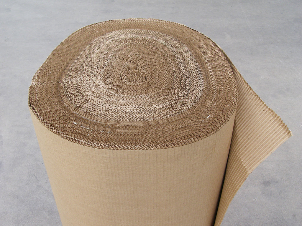 B Flute - Rolled Single Face Cardboard