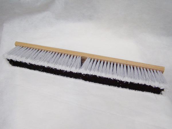 medium/soft bristle push broom
