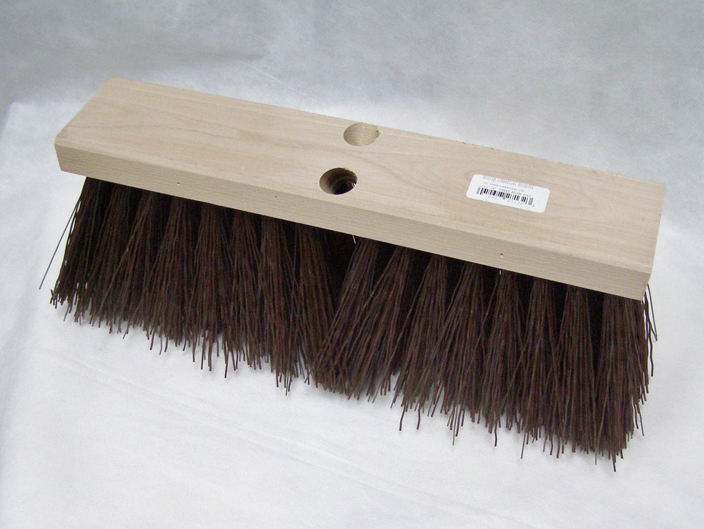 coarse street push broom