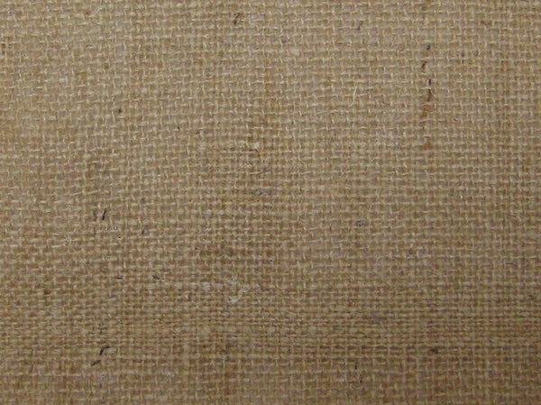 close woven burlap fabric