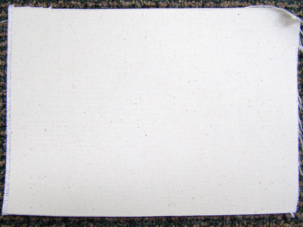 untreated cotton canvas fabric