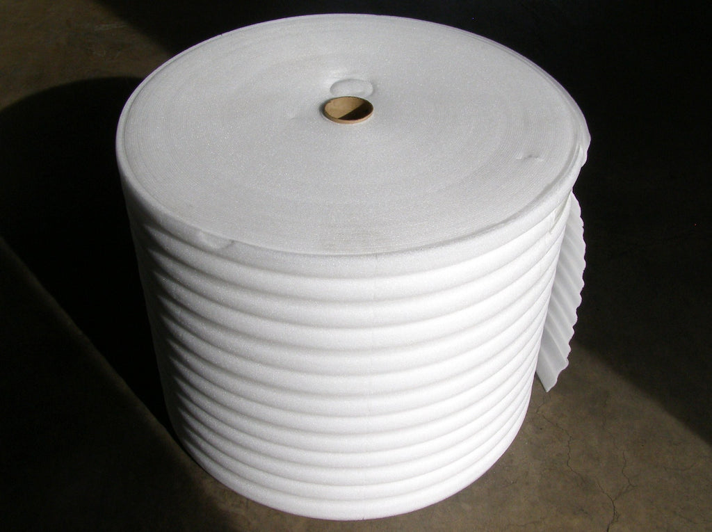 roll of poly packing foam