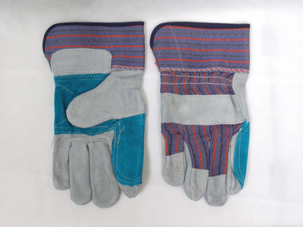 work glove with double palm