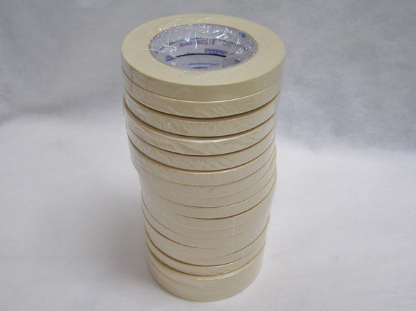 "sleeve of 1/2"" masking tape"