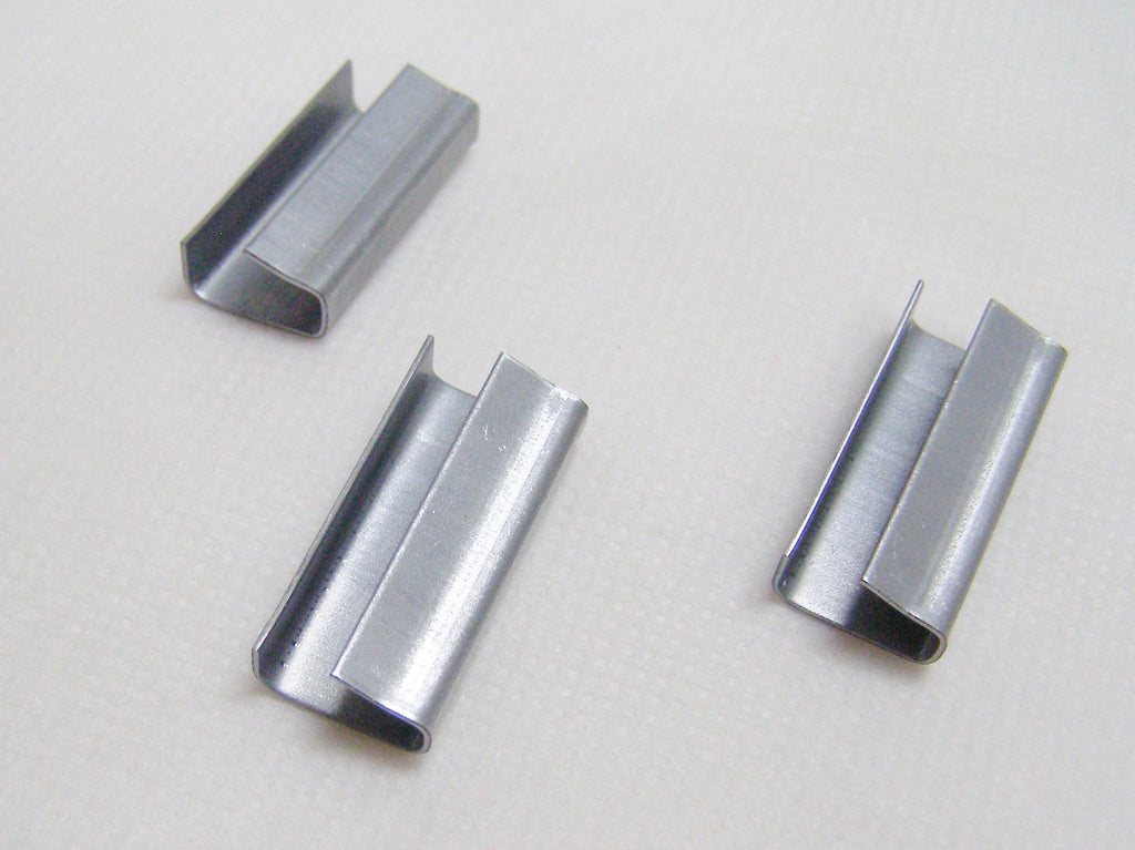 seals for poly strapping or banding