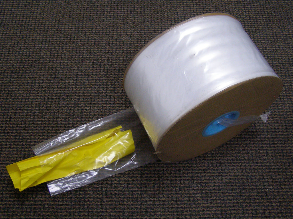 roll of poly tubing