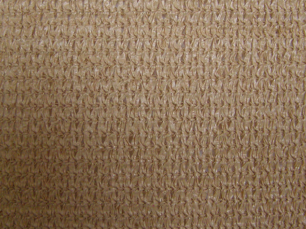 tan privacy fence screen fabric
