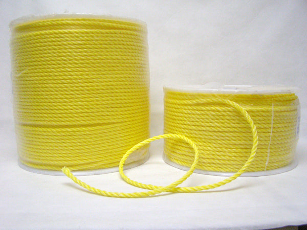 "1/4"" yellow polypro rope"