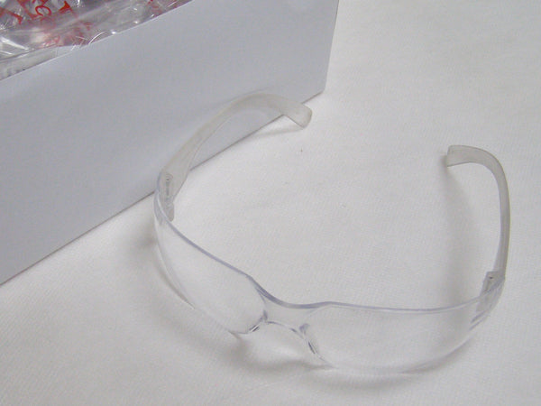 case of bulldog clear safety glasses