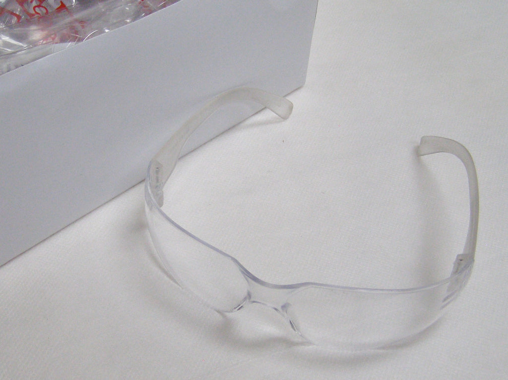 Bulldog clear safety glasses