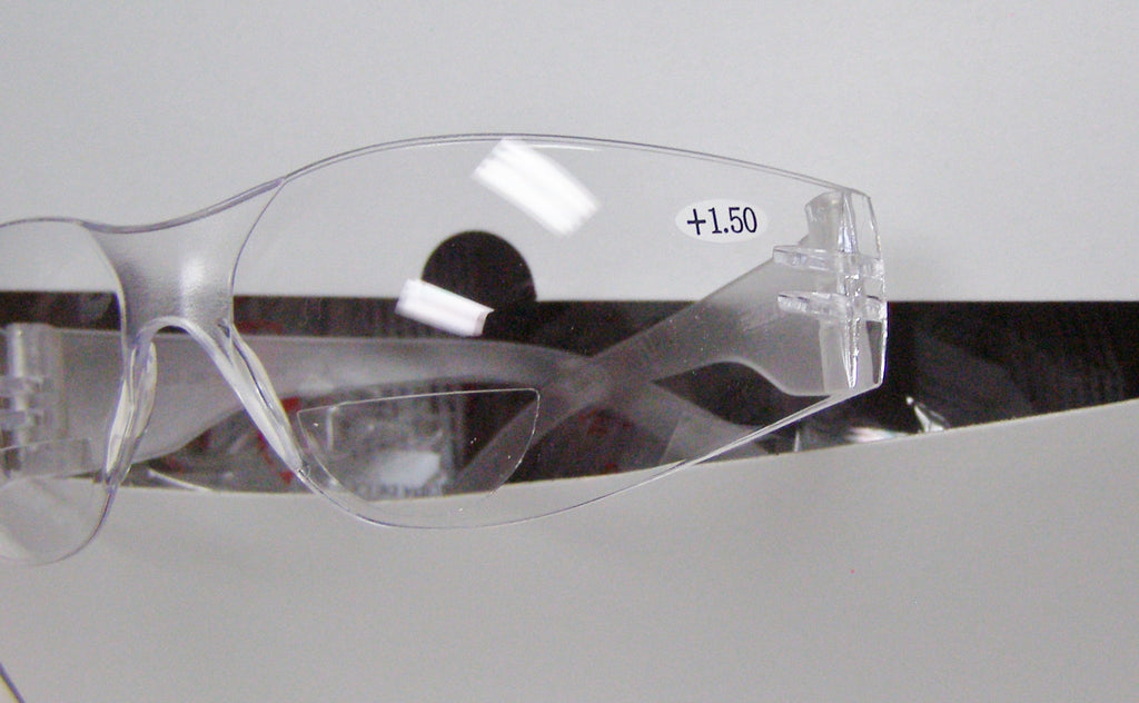 reader clear safety glasses