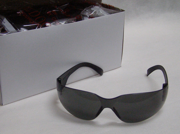 box of tinted Bulldog safety glasses