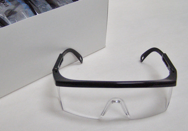 box of Integra clear safety glasses
