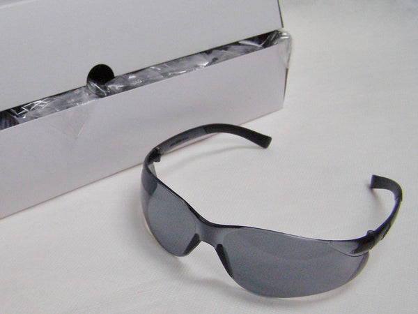 box of tinted Ztek safety glasses