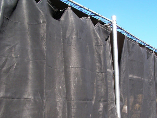 storage shed curtain