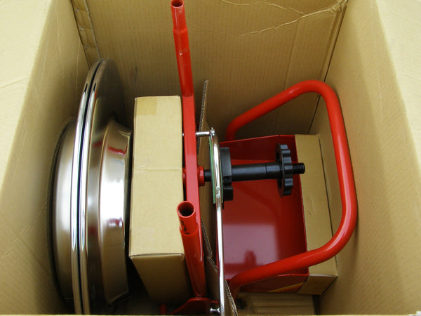cart for carrying steel banding/strapping