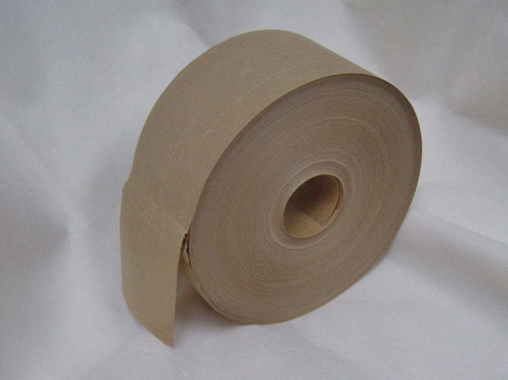 water activated reinforced brown paper tape