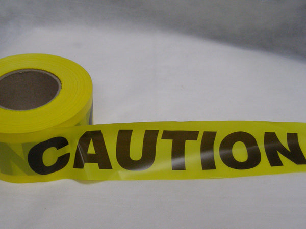 economy CAUTION tape