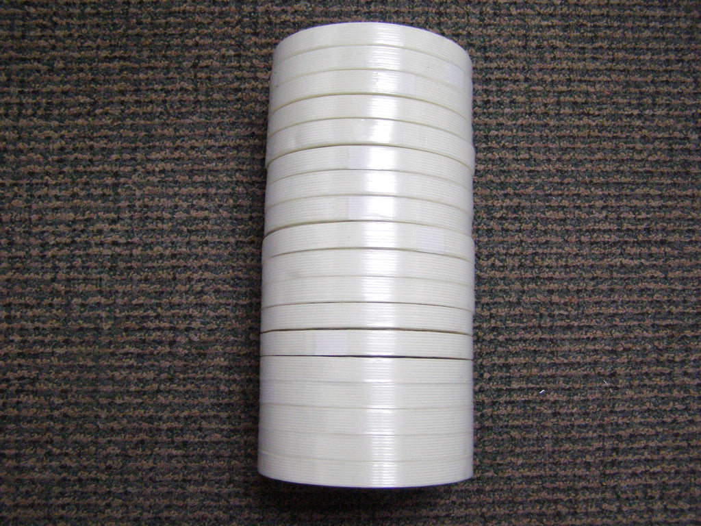 "sleeve of 1/2"" filament tape"