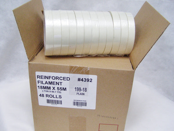 "case of 3/4"" filament tape"