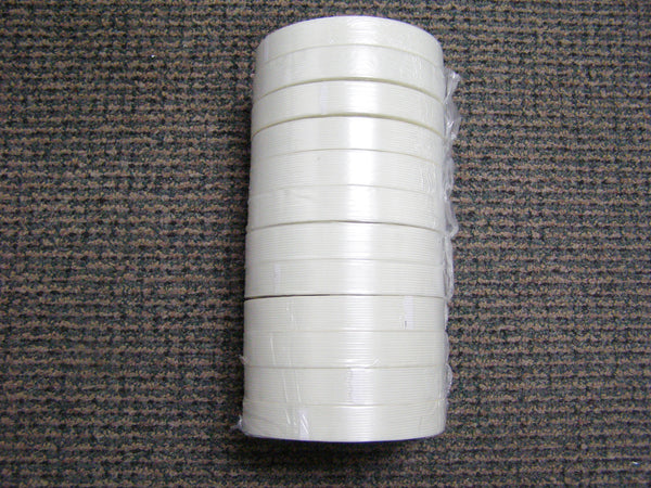 "sleeve of 3/4"" filament tape"