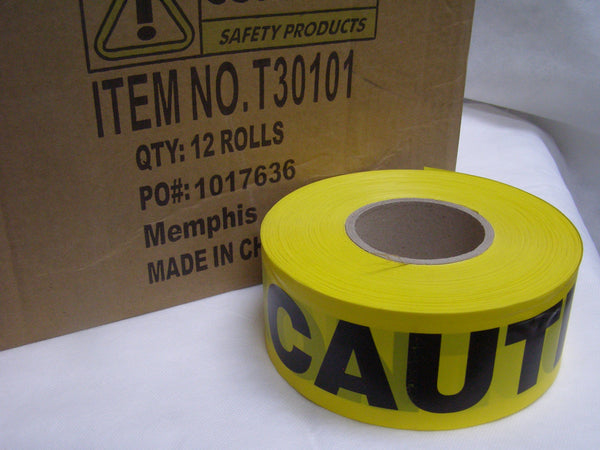 case of premium CAUTION tape