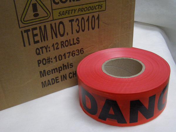 case of premium DANGER tape