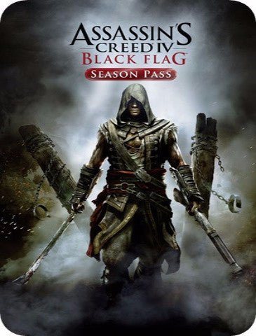 ASSASSIN'S CREED 4 IV BLACK FLAG SEASON PASS (STEAM)