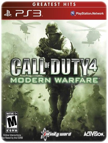 CALL OF DUTY 4 MODERN WARFARE BUNDLE