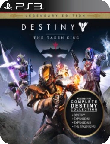 DESTINY: THE TAKING KING LEGENDARY EDITION