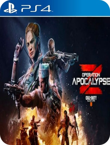 CALL OF DUTY BLACK OPS 4 APOCALYPSE Z