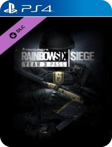 TOM CLANCY RAINBOW SIX SIEGE YEAR 3 PASS
