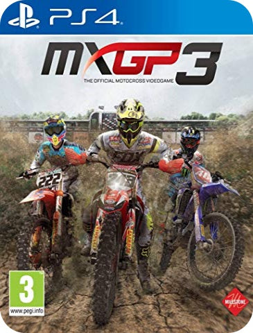 MXGP 3 THE OFFICIAL MOTOCROSS VIDEOGAME
