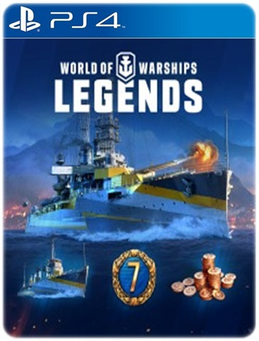 WORLD OF WARSHIPS LEGENDS PREMIUM EDITION