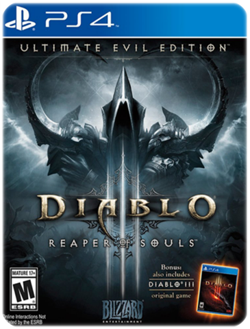 DIABLO 3 REAPER OF SOULS EVIL EDITION