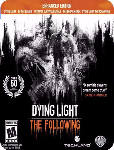 DYING LIGHT THE FOLLOWING THE ENHANCED EDITION