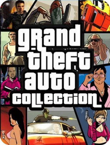 GTA GRAND THEFT AUTO COLLECTION