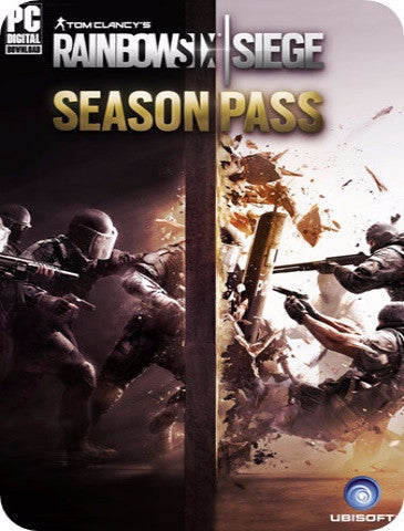 TOM CLANCY'S RAINBOW SIX SIEGE SEASON PASS DLC (UPLAY)