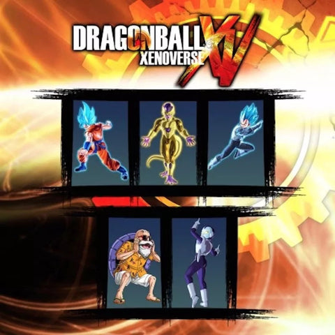DRAGON BALL XENOVERSE RESURRECTION PACK