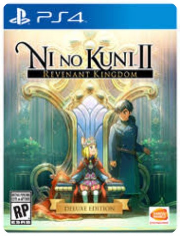 NI NO KUNI 2 REVENANT KINGDOM DELUXE EDITION